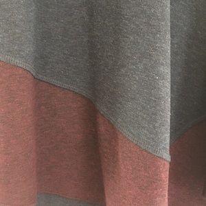 Three Dots Tops - Three Dots asymmetrical tunic top